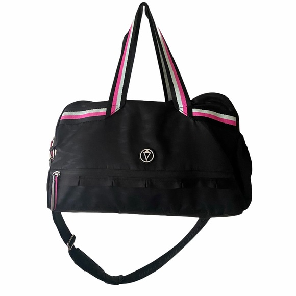 EUC Ivivva Black/Pink In the Game Gym Duffle Bag